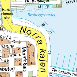 Guide Map Of The Region Of Helsinki