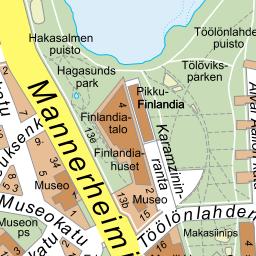 Helsingforsregionens Guidekarta